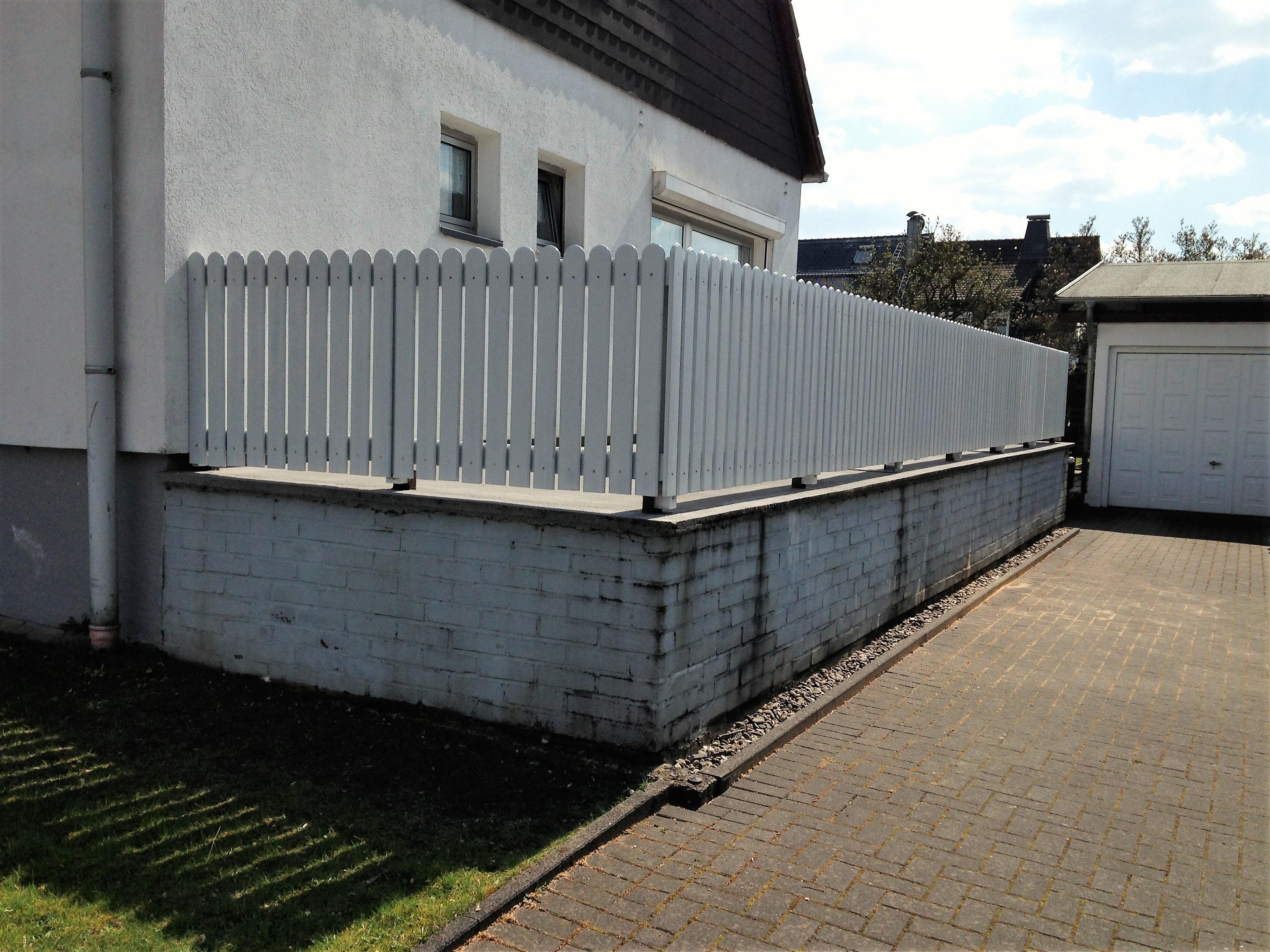 Terrasse Zaun referenzen - bv. terrassenzaun - vers | zimmerei & holzbau krüger